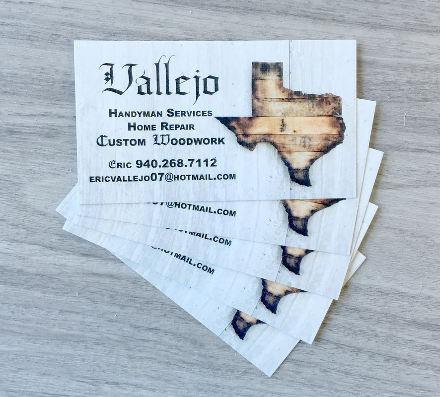 Business Cards - Orbit Press - Denton, Tx